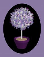 Flowery Tree in Pot